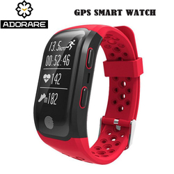 ADORARE S908 GPS Smart Watch Women Men Sport Mode Heart Rate Sleep Monitor Waterproof Wristband relogio Watches For Android iOS