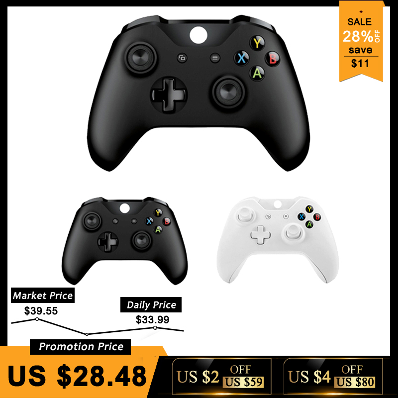 Controlador inalámbrico para Microsoft Xbox una computadora PC controlador Control Mando para Xbox uno Slim consola Gamepad PC Joystick