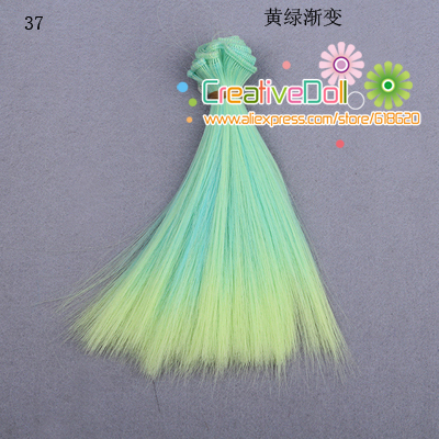 free-shipping-15cm-wholesales-Straight-Hair-DIY-Hairwigs-For-BJD-for-monster-high-for-barbie-dolls-2
