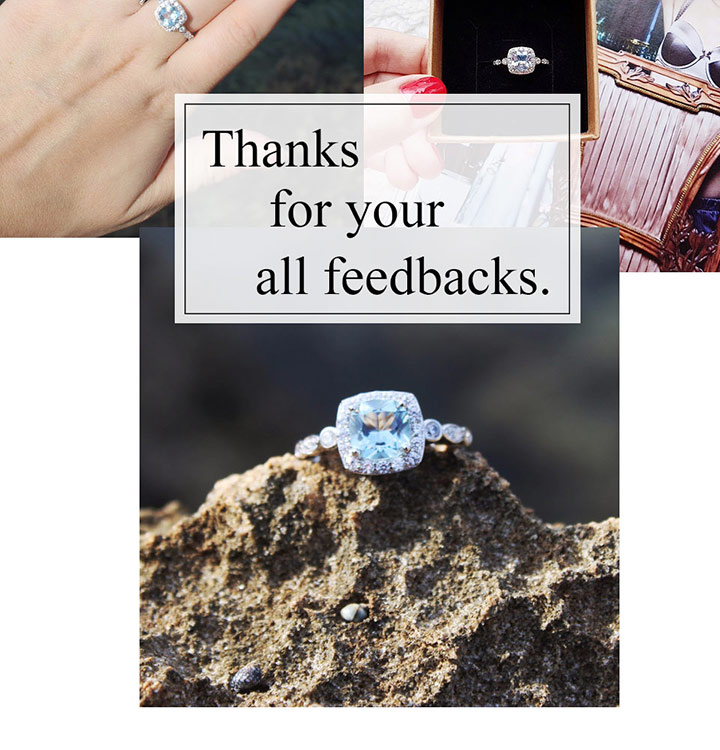 HTB16zG.eBCw3KVjSZFuq6AAOpXaw UMCHO Real S925 Sterling Silver Rings for Women Blue Topaz Ring Gemstone Aquamarine Cushion Romantic Gift Engagement Jewelry