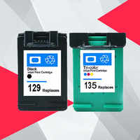 Kompatibel für hp 129 135 Photosmart C4140 C4150 C4170 C4173 C4175 C4180 C4183 C4188 C4190 tinte patrone für hp 129 für hp 135