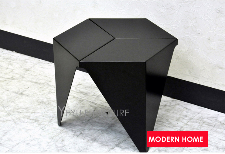 Minimalist Modern Design Plastic Low Small Side Table, Living Room End Corner  Table, Kids Table, Fashion Small Tea Table 1PC  In Coffee Tables From ...