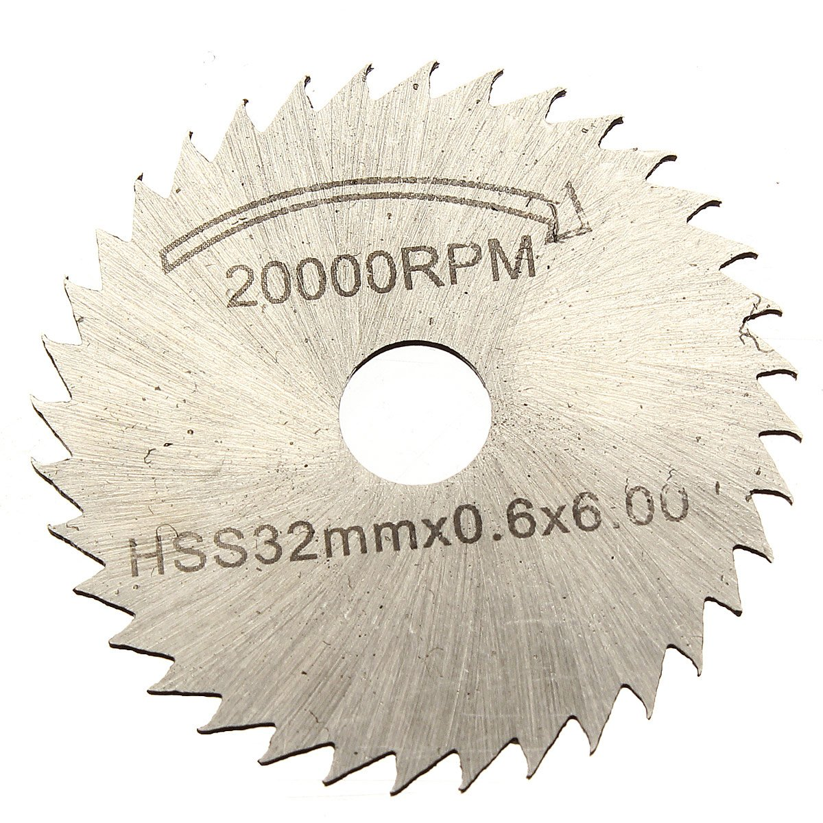 Top Quality Kits Of 6 Pcs HSS Saw Blade Circular Drive Decoupe Dent For Dremel Rotary Tool
