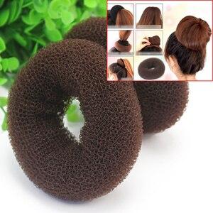 2x Beauty Hairdressing Styling Sponge Donut Hair Bun Ring Maker Styler Accessory