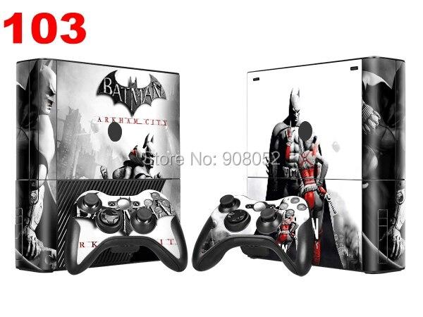 Batman Sticker For Xbox 360 E Accessories PVC Vinyl Cover For Xbox 360 Console Skin Sticker