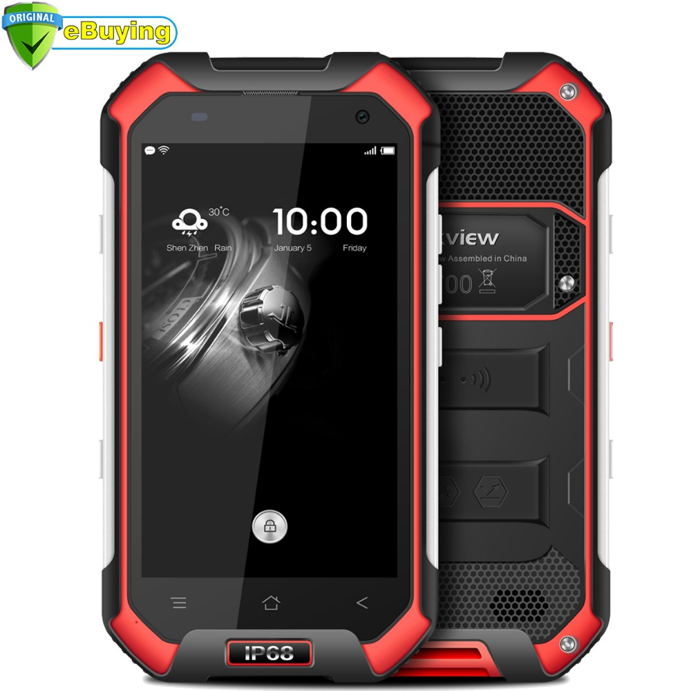 """bilder für Blackview BV6000 Smartphone Android 6.0 IP68 Wasserdicht 4,7 """"bildschirm MTK6755 Octa-core 3 GB 32 GB 4200 mAh NFC 4G LTE handy"""