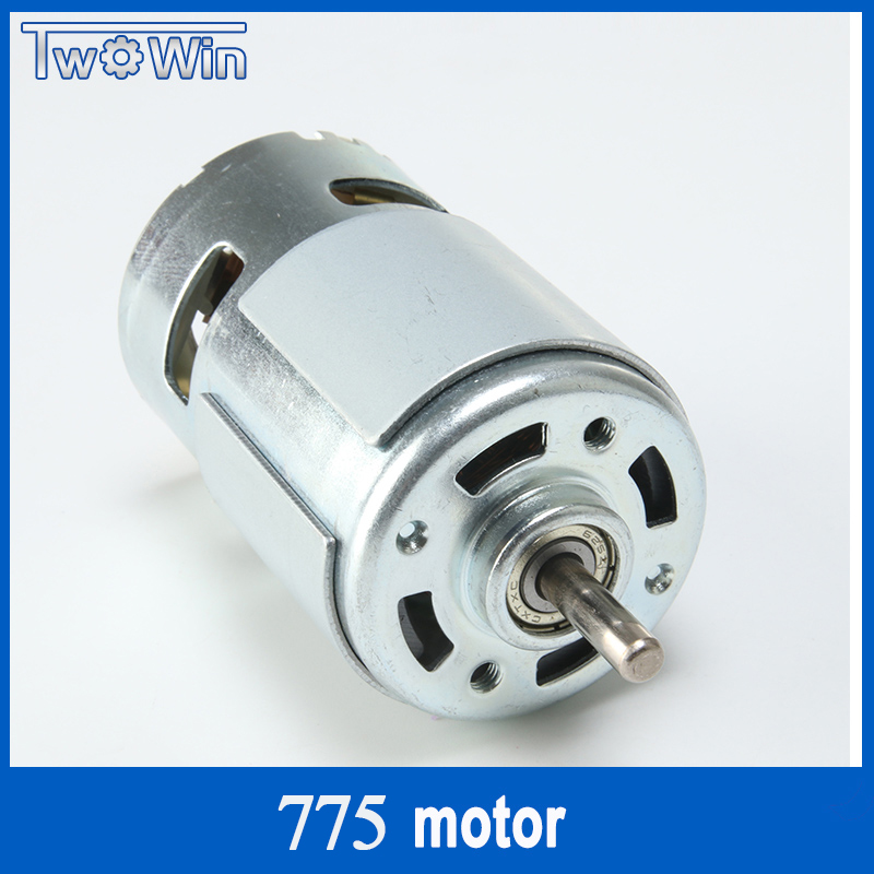 High Speed Spindle 775 Motor Large Torque DC Motor Electric Tool Electric Machinery 12-36V 775 Electric Machinery