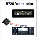7x29pixel white color LED name badg Name card Advertising led Tag Card Badge Sign Display led card board use battery