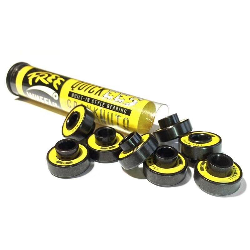 USA Brand Convex Skate Longboard Bearings 8pcs For Long Board Wheels Dancing Downhill Longboard Bearing