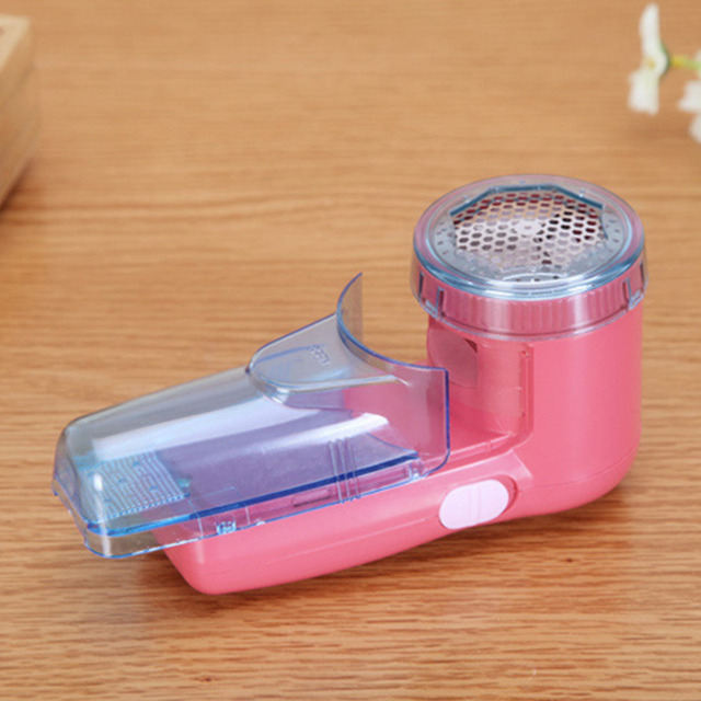 Hot Home Use Portable two batteries clothing pill lint remover sweater substances shaver machine to remove the pellets