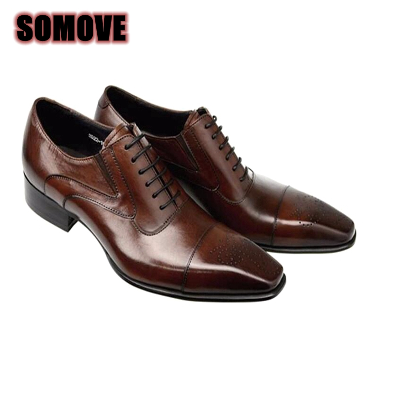 Fashion Italian Men Shoes Genuine Leather Mens Dress Shoes Sales Carved Designer Wedding Male Oxford Shoes Men Flats 37-46 2017 new fashion italian designer formal mens dress shoes embossed leather luxury wedding shoes men loafers office for male