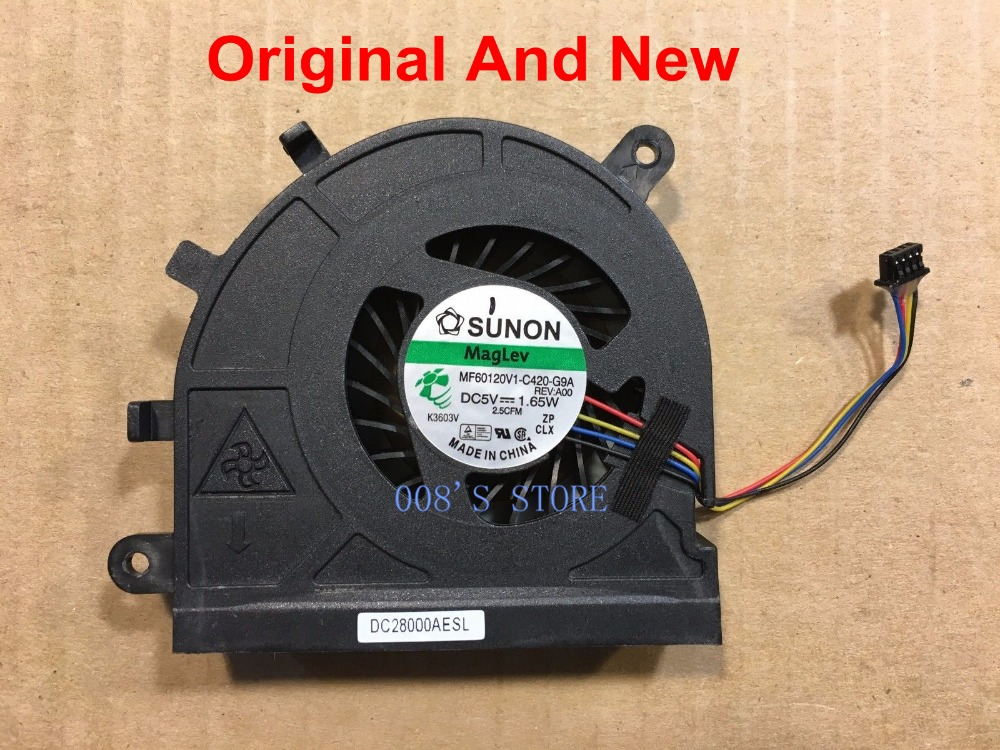 New Laptop CPU Cooling Cooler Fan For Dell Latitude E5530 Vostro 3550 Series By SUNON MF60120V1-C420-G9A DC 5V 1.65W DP/N 09HTYD