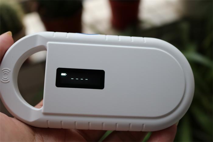 Scanner de puce d'animal familier de lecteur de puce de RFID de mini poignée de 134.2 khz