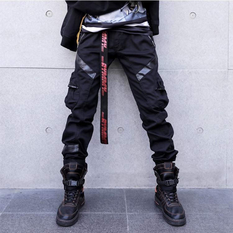 Automne 2018 Nouveau Japonais Streetwear Pantalon Hommes
