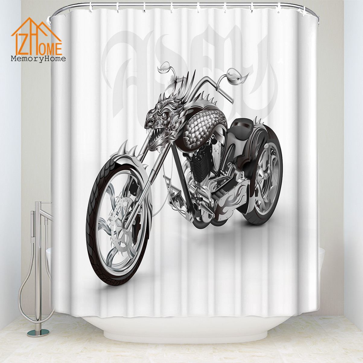 Memory Home New Arrival White Polyester Cool Motorcycle Waterproof ...