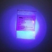 Ультрафиолетовый фосфорный пигмент, анти-подделка пигмента, УФ Флуоресцентный порошок, под УФ светильник, цвет: белый, 1 лот = 5 г