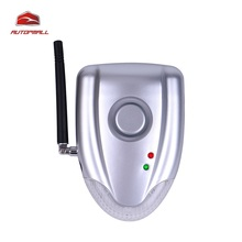 Two Way Car Alarm DIYV2 No Installation DIY Auto Security System with Wireless Alarm Siren and No Wires Connect to Car DC 12-24V