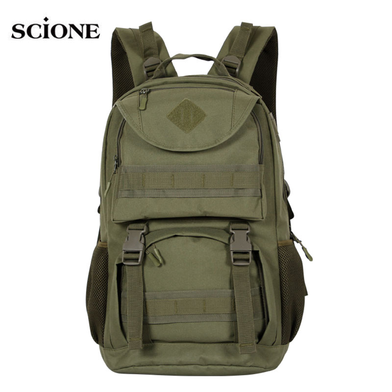 Molle Camping Rucksack Backpack Tactical Military Backpacks Tactical Backpacks Hiking Outdoor Bag Army Bags Mochila Pack XA640WA
