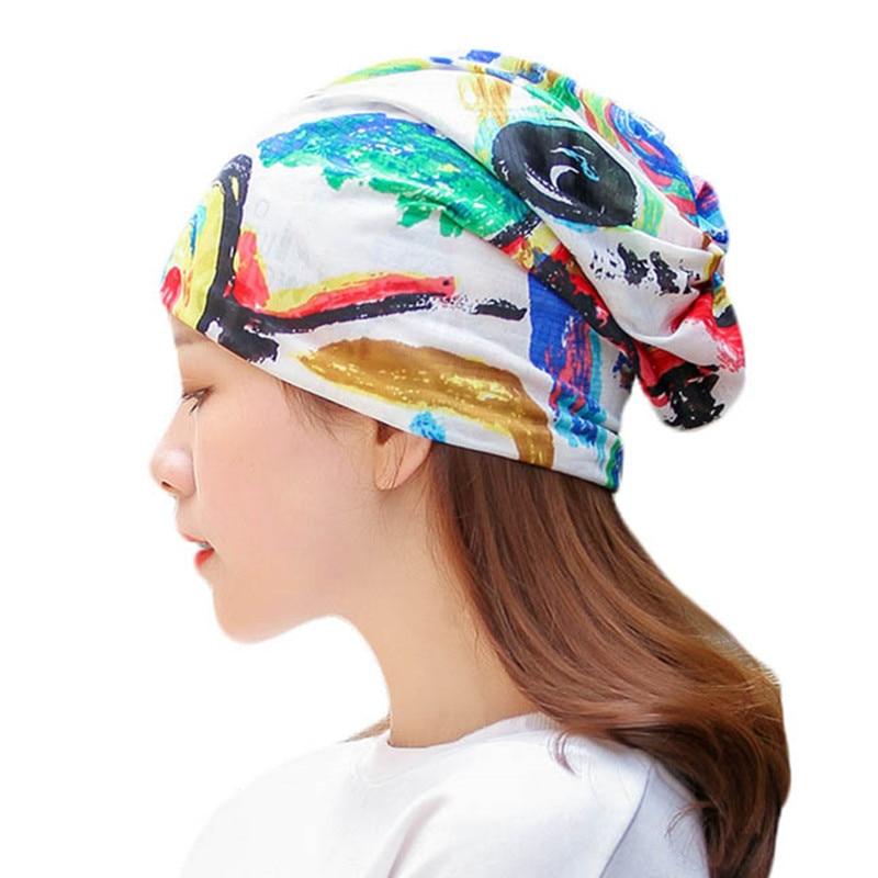 Spring Summer Thin Lace Hats Women Casual   Skullies     Beanies   Cap Female Male Cotton Warm Elasticity Hats Head Wear Hat Accessory