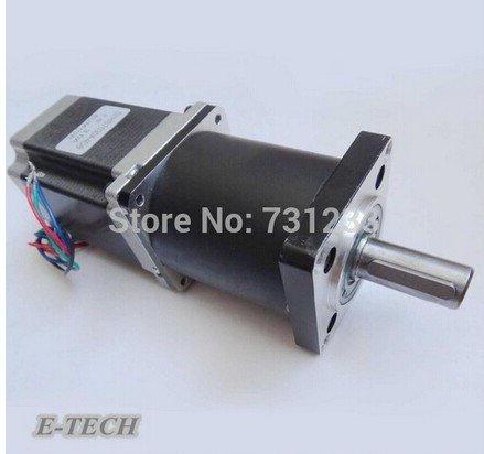 NEMA 23 planetary type Planetary Geared Stepper Motor 12N.m  Motor Body 112mm Gear Ratio 5:1 10:1NEMA 23 planetary type Planetary Geared Stepper Motor 12N.m  Motor Body 112mm Gear Ratio 5:1 10:1