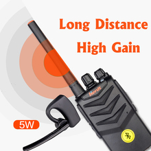 Walkie Talkie Hands-free Bluetooth Headset Wireless Earphone Handheld Two Way Radio Headphones Buletooth Earpiece