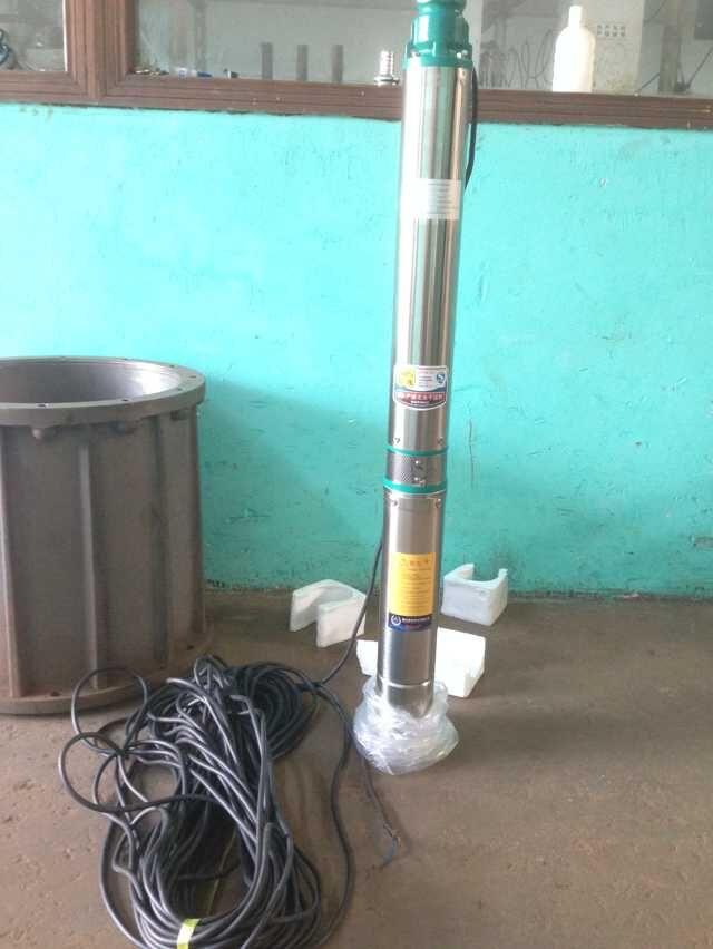 цена на 100QJD10-20/5-1.1 never sell any renewed pumps 220v ac diesel deep well water pump solar borehole pump