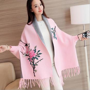 2019 Women's Sweaters For Winter Female Cardigan Leisure Long Sleeve Slim Thin Out jacket Long section Tops