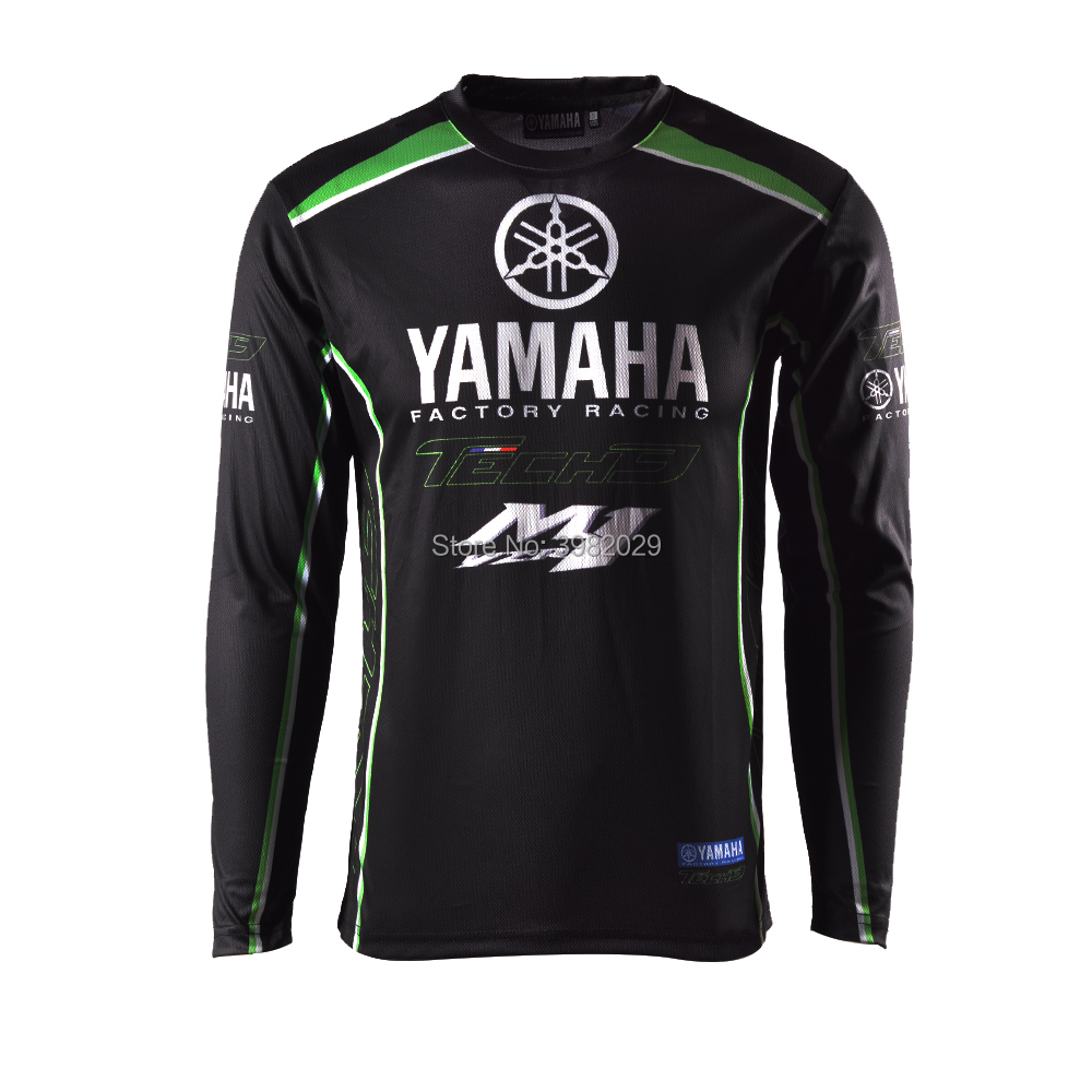 2018 New Racing Clothes for Yamaha Black Long Sleeve Jersey Moto GP T-shirt Racing Wear2018 New Racing Clothes for Yamaha Black Long Sleeve Jersey Moto GP T-shirt Racing Wear