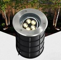 (2 unids/lote) ángulo ajustable regulable w 5w 7w 7w 9w 12 W 18 w 24w IP68 LED lámpara subterránea LED terreno de exterior jardín lámpara