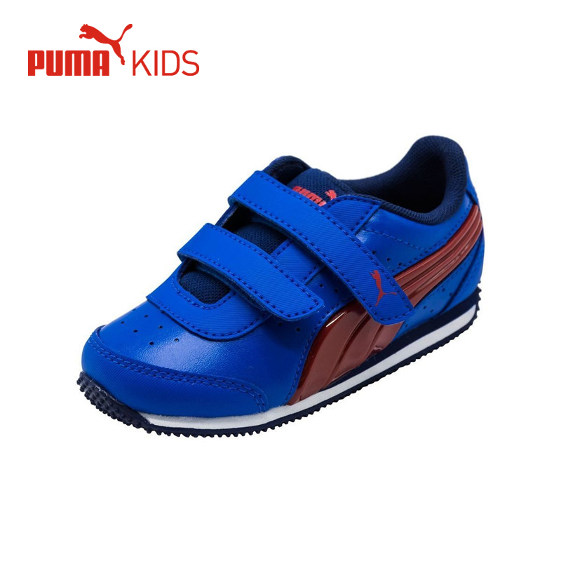 PUMA SPEED LIGHTUP POWER Baby Boys Fashion Luminous Glowing Flashing Casual Sport Running Shoe Kid Sneaker Boys Outdoor Footwear boys soccer shoe toddler little kid big kid synthetic leather upper rubber soles casual outdoor indoor light weight running