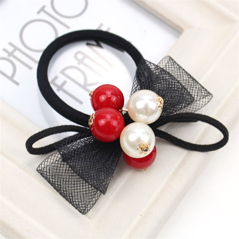 1PCS Imitation Pearlsl Hair Accessories For Women Headband,Elastic Bands For Hair For Girls,Hair Band Hair Ornaments For Kids