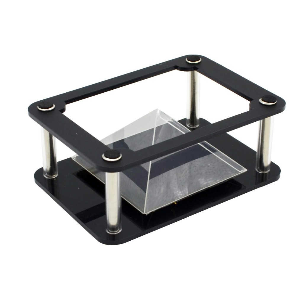 Universal 3d Holographic Projection Pyramid For Smartphone