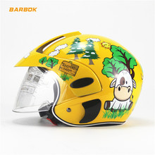 Motorcycle Helmets for 2-8 Age Kids Child Bicycle Scooter Snowboard Roller Racing Ski Skateboard Hokcey Moto Sports Safety Hat