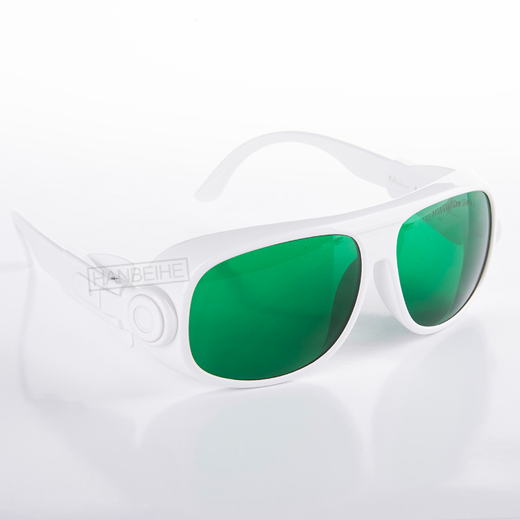 laser safety goggles for 190-440nm and 600-760nm o.d 4+ ce certified laser head 440 bdp4110 sf bd414