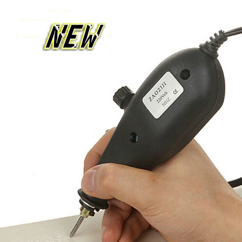 DIY electric engraving pen and Metal engraving machine for measuring tools, mold number, batch number metal name plate engraving machine for batch number marking