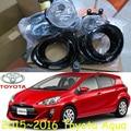 car-styling,Aqua fog lamp,215~2016,Halogen,2pcs/set+wire ON/FF,Aqua headlight,steering-wheel,Aqua front light