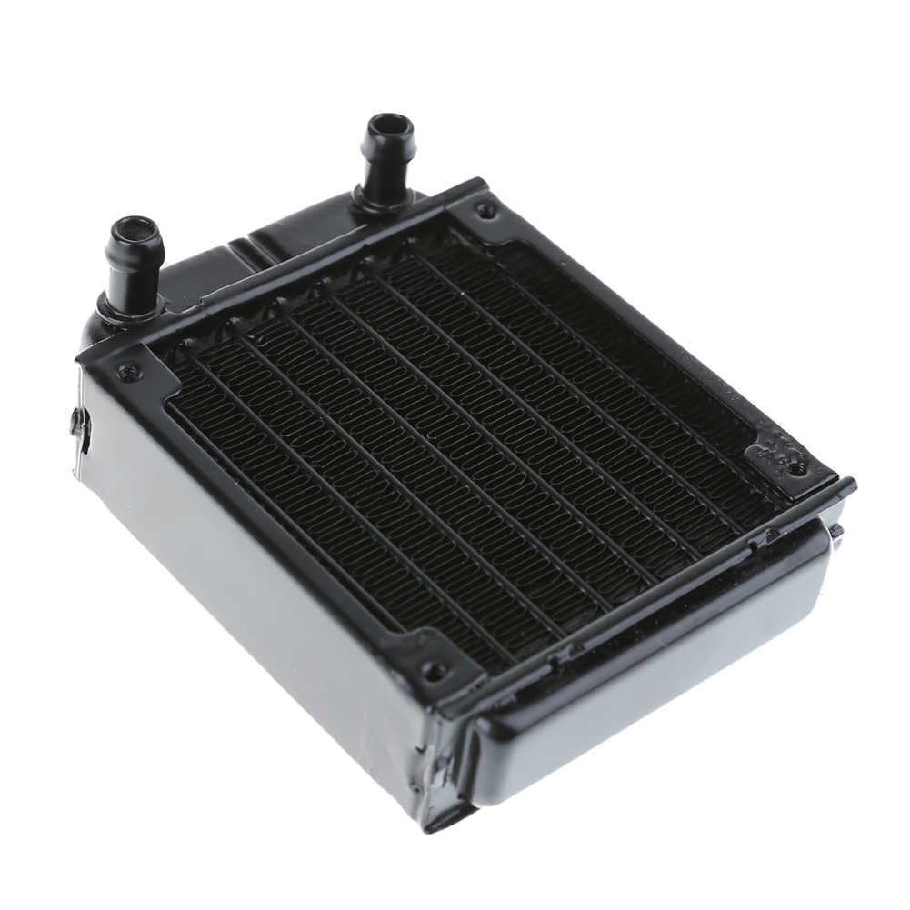 80mm Aluminum Water Cooling Radiator Computer PC Water