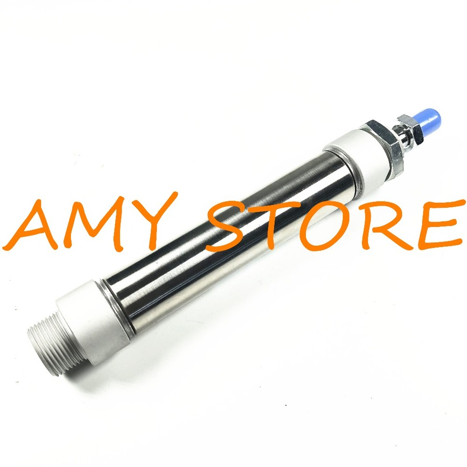 AIRTAC Type MA25-75S-CM Mini Pneumatic Cylinder Double Acting 25-75mm