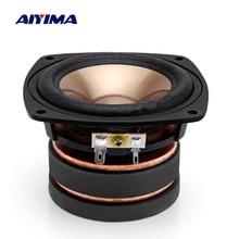 AIYIMA 1Pcs 4 Inch Audio Speaker Driver 4 Ohm 100W Full Rang