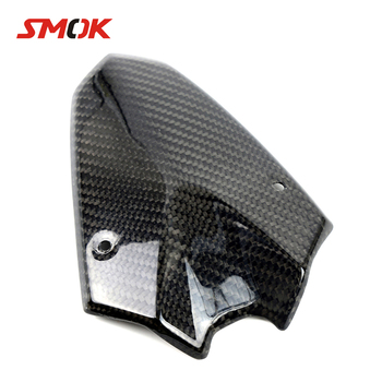 SMOK Motorcycle Accessories Carbon Fiber Headlight Fairing Cover For Kawasaki Z1000 Z 1000 2014 2015 2016