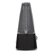 Professional Pyramid Mechanical Bell Ring Metronome Musical Beat Timer Beat Tempo For Electric Acoustic Guitar Bass