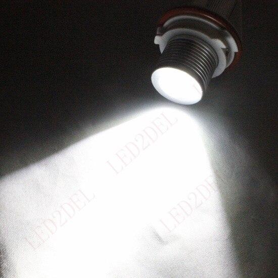 5W CREE E39 LED Angel Eyes Halo Ring Marker Light Bulbs Xenon White 6000K For BMW E39 E53 E60 E61 E63 E64 E65 E66 E87 brand new 7000k led angle eyes halo xenon marker ring light bulb canbus for bmw e39 e53 e60 e61 e63 e64 e65 e66 x5