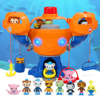 Octonauts toys for boys octopus Fortress Set with Light Music Undersea Small Team Series House Toys kids toys gift birthday gift