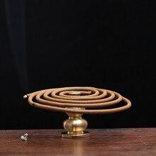 25mm Copper Incense Holder Can be fixed incense sticks and coil Portable incense burner censer high  incense plug