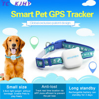 G02 Pet Locator GPS Tracker Cat Tracking Dog Ring Chain Manufacturer GPS Location Sim Alarm System SOS Vibration Alarm