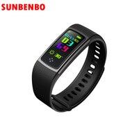 2017 New S9 Smart Band Blood Pressure Oxygen Monitor Heart Rate Smart Bracelet IP67 Waterproof Fitness