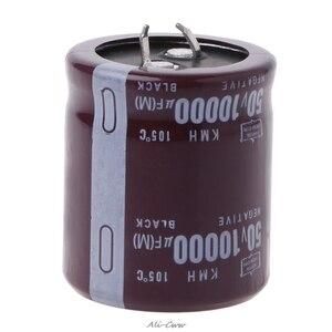 Image 1 - 10000 미크로포맷 50V 105 섭씨 전원 전해 커패시터 스냅인 스냅인 S927
