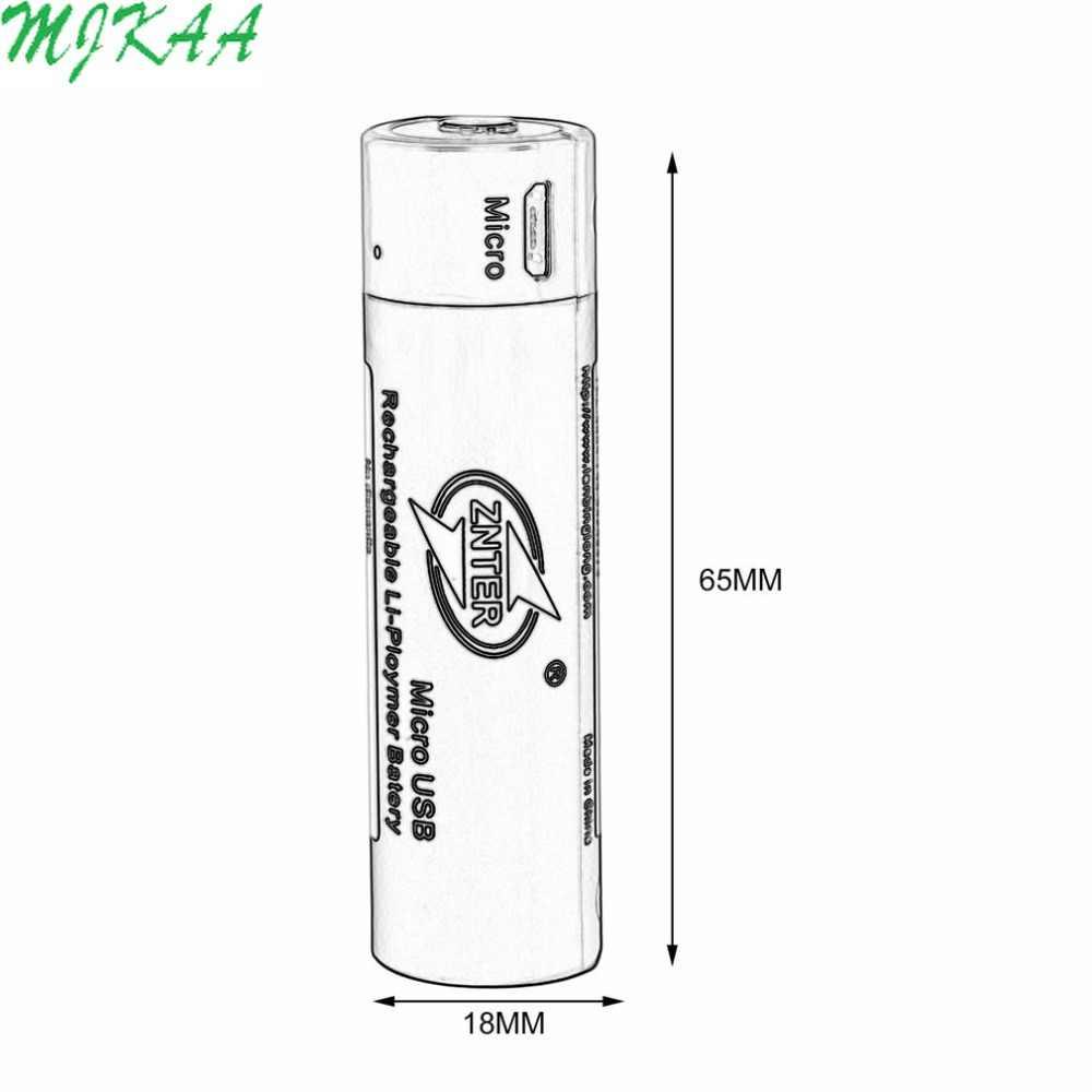 2 шт Ультра-эффективный 18650 3,7 V 1500mAh USB аккумуляторная батарея литий-полимерный для RC передатчик частей