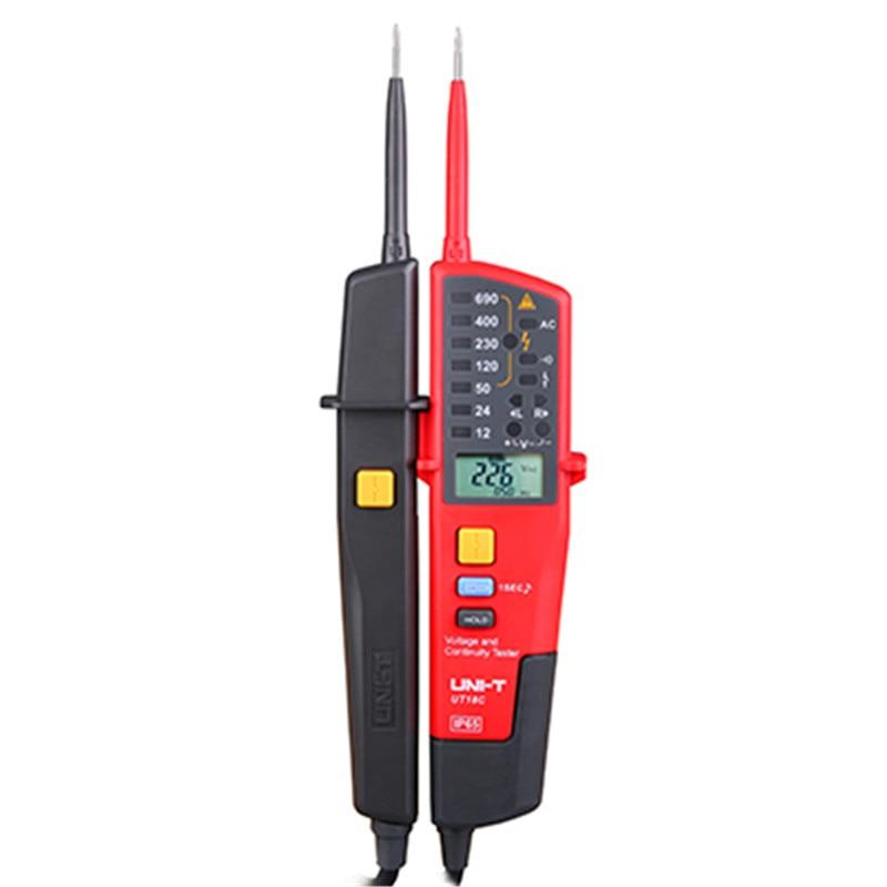 UNI-T UT18C UT18D Auto Range Voltage Meter Voltage and Continuity Tester / On-Off Test / RCD Test / Single-Pens Measurement цена
