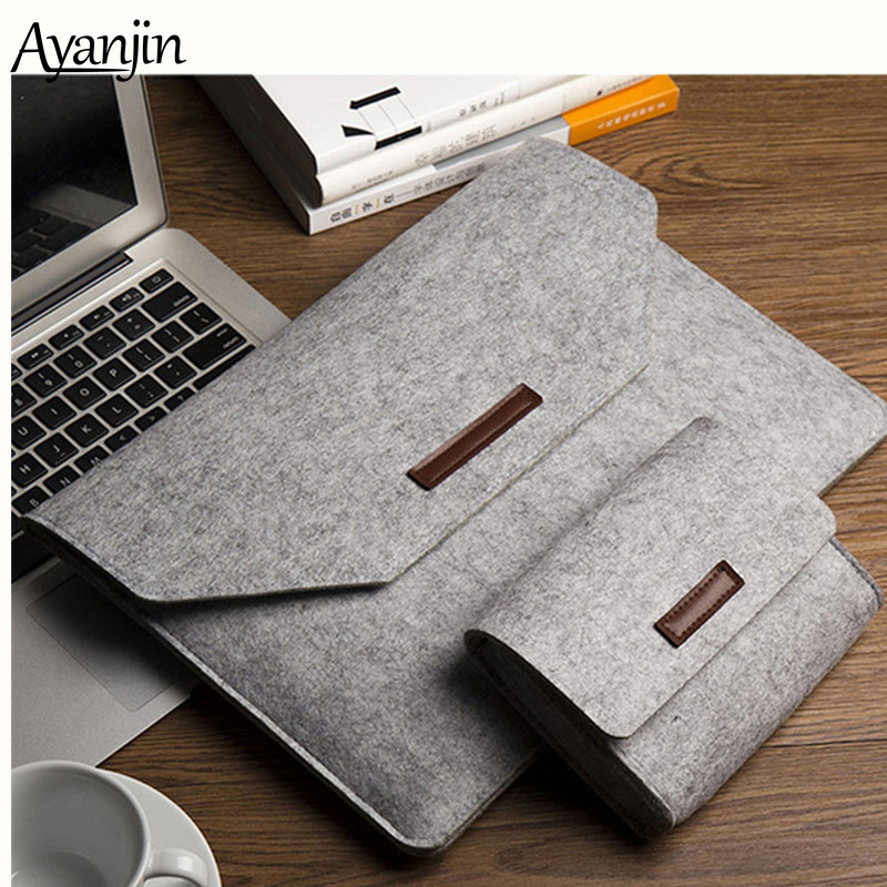 13 14 15.6 polegada Laptop Case Bolsa para Macbook Air Pro Retina 13 15 Laptop Sleeve Capa para Xiaomi Dell notebook HP Pro 12.5 15.6